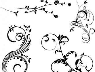 ornamenti floreali – floreal ornaments