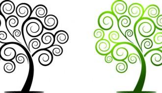 alberi con spirale – swirly tree