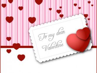 biglietto di San Valentino – Valentine's card