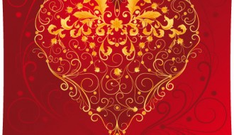 cuore decorato – decorative heart