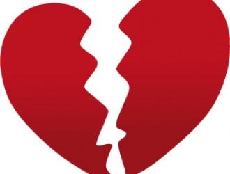 cuore spezzato – broken heart