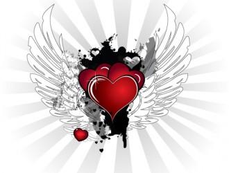 cuori con ali – winged hearts