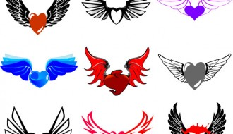 cuori con ali – winged hearts_1
