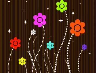 fiorellini con stelo – little flowers with stalk