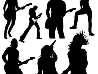 sagome musicali – music sillhouette