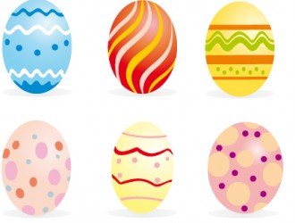 uova di Pasqua colorate – colored easter eggs