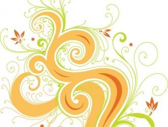 fiori con spirali – swirl flowers