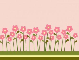 Fiori da giardino garden flowers vettoriali for Fiori grassi da giardino