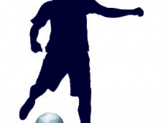 sagoma di calciatore – football player sillouette