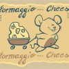 Topo con formaggio – mouse with cheese