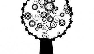 albero stilizzato – stylized tree