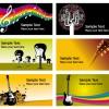 bigliettini da visita musicali – musical business cards