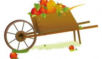 carretto di mele – apple cart