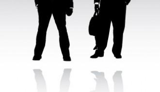 sagome uomini d'affari – business man sillhouette_1