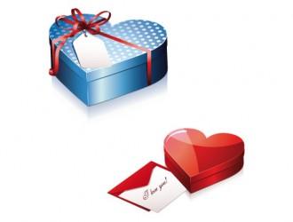 scatole regalo a cuore – heart gift boxes