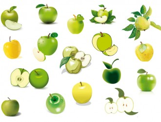 mele verdi e gialli – green and yellow apples