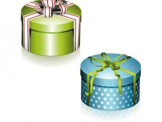 scatole regalo tonde – round gift boxes