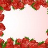 cornice di fragole – strawberries frame