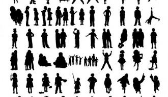 sagome di persone – human sillhouette_1