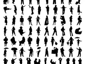 sagome di persone – human sillhouette_2