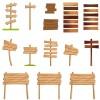segnali di legno – wood signs