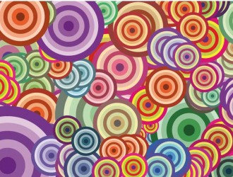 sfondo con cerchi – background with circles_1
