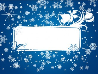 cornice natalizia – Christmas frame