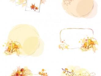 cornici autunnali – autumn frames