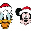 Paperino e Topolino natalizi – Christmas Donald Duck and Mickey Mouse