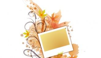 cornice autunnale – autumn frame