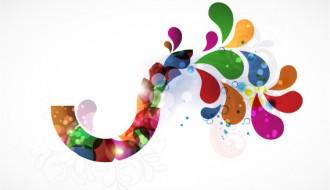 illustrazione astratta colorata – abstract colorful illustration