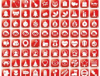 icone natalizie – Christmas icons_1
