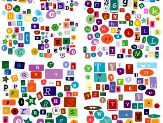 lettere dell'alfabeto – letters of the alphabet