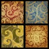 pattern damascati vari – different damask pattern