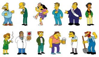 personaggi Simpson – Simpson characters