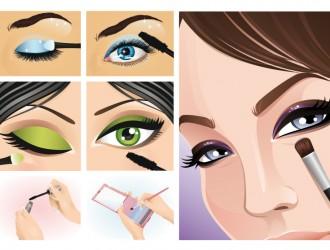 trucco occhi – eyes make-up
