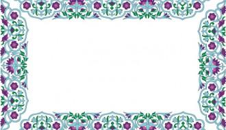 cornice floreale – floral frame_2