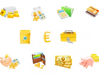 icone di monete – money icons