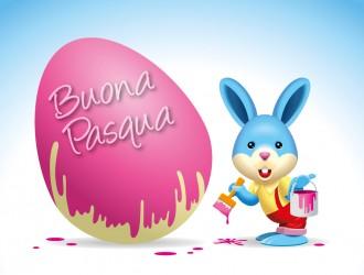 Biglietto buona Pasqua – greeting card happy Easter