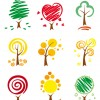 icone di alberi – trees icons