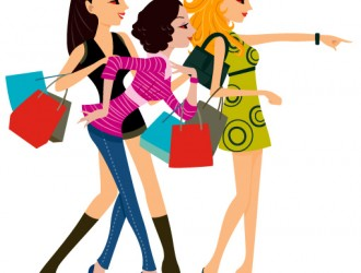 ragazze con buste – shopping girls