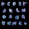 alfabeto blu – blue alphabet