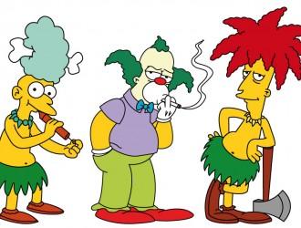 Telespalla Mel, Krusty il Clown,  Telespalla Bob – Sideshow Mel, Krusty the Clown, Sideshow Bob