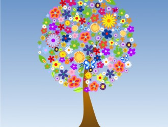 albero di fiori – flowers' tree