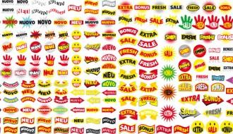 etichette di vendita – retail labels