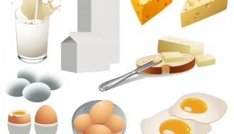 latte, uova, formaggi – milk, eggs, cheese