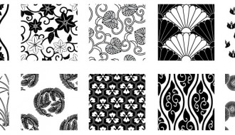 pattern in bianco e nero – white and black pattern