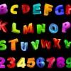 alfabeto e numeri – alphabet and numbers