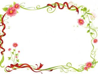 cornice floreale – floral frame_5