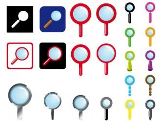 lente di ingrandimento – magnifying glass